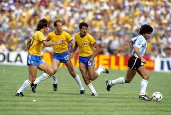 Soccer - World Cup Spain 1982 - Group C - Brazil v Argentina